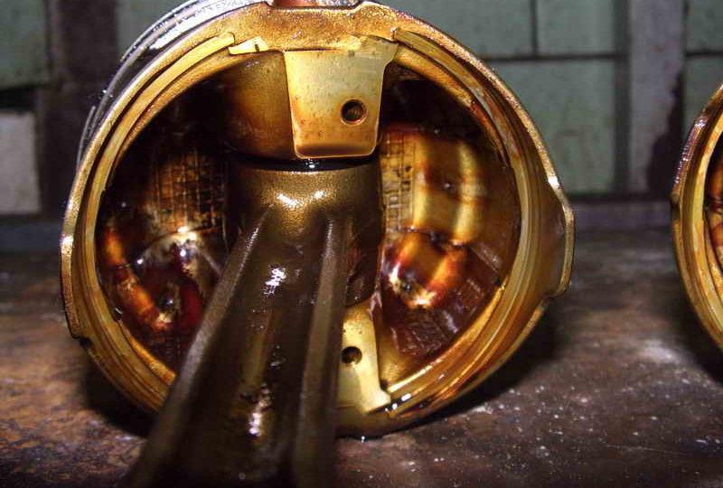 Очистка двигателя GDI от сажи ( с разборкой) 5